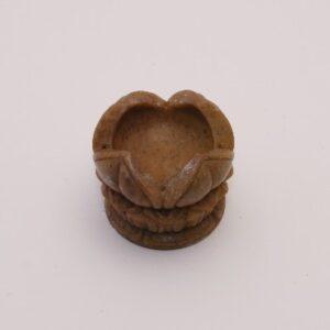 Open Lotus 4cm geschikt voor stokjes en kegeltjes