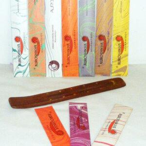 Flower Incense 10X met Ski wierookhouder