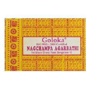 Goloka Nagchampa kegels/cones 10st (12g)
