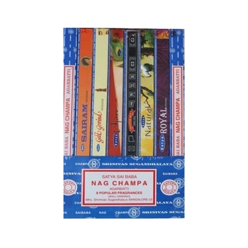 Sai Baba Nagchampa Kado verpakking 8x10gr