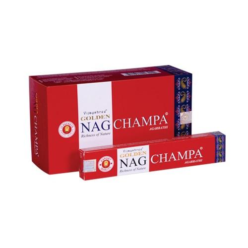 Golden Nag Champa, Frangipani rood 15gr