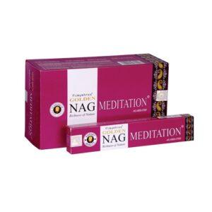 Golden Nag Meditation, paars 15gr