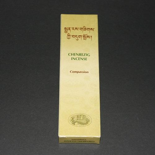 Tibetaanse wierook Chenrezig, Compassion,