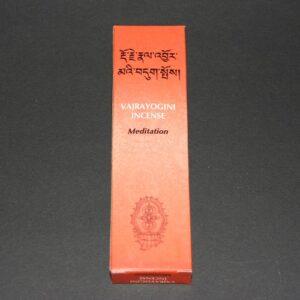 Tibetaanse wierook Vajrayogini, Meditation, 14cm, 20gr
