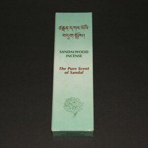 Tibetaanse wierook Sandalwood, The Pure Scent of Sandal, 14cm, 25gr