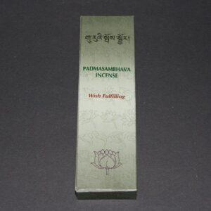 Tibetaanse wierook Padmasambhava, Wish Fulfiling, 14cm, 20gr