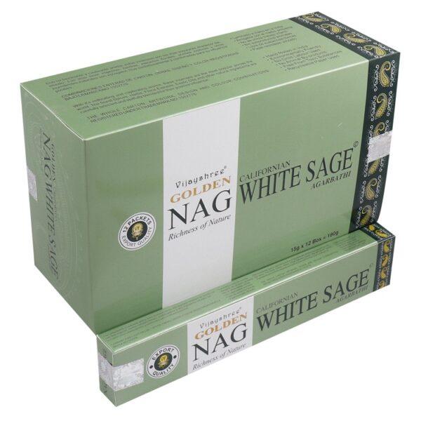 Golden Nag White Sage